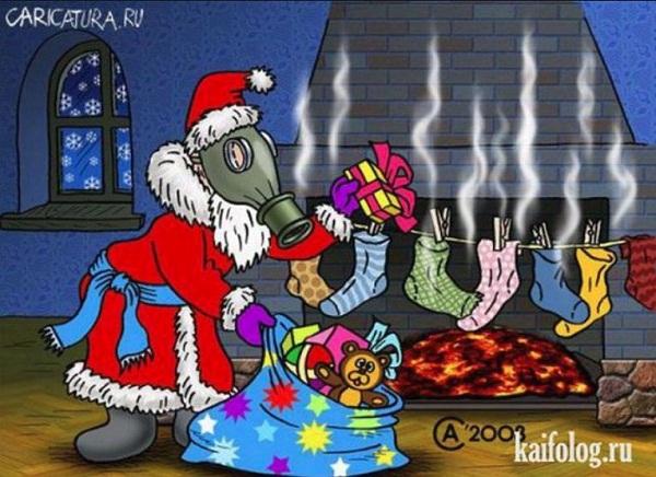 картинки про новый год смешные с надписями (12)