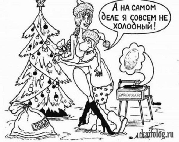 картинки про новый год смешные с надписями (13)