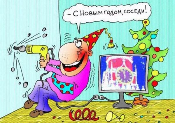 картинки про новый год смешные с надписями (25)